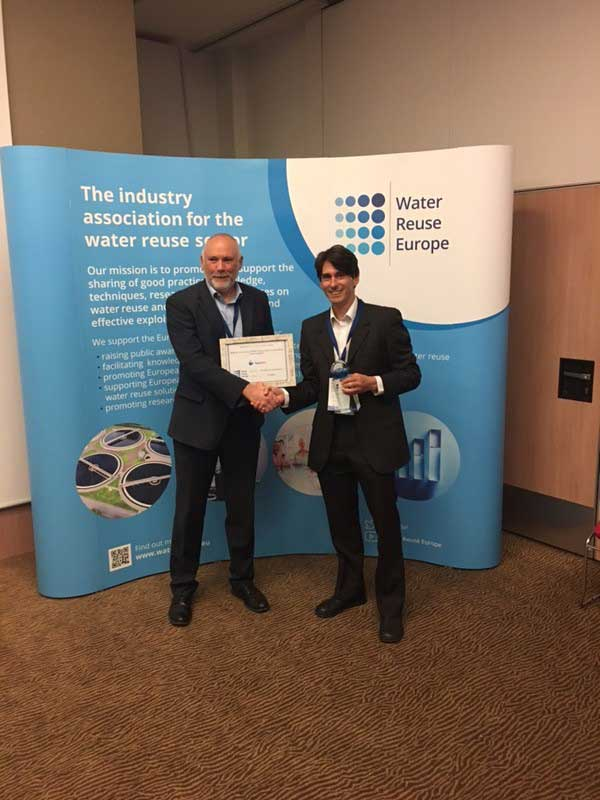 WRE Award Winner Most Innovative Water Reuse Scheme In Europe